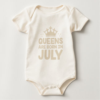 Body Para Bebé Reina de julio