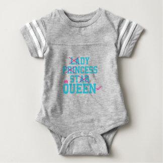 Body Para Bebé Reina de la estrella de la princesa de la señora