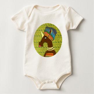 Body Para Bebé Reina del africano del unicornio