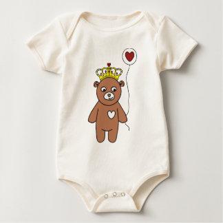 Body Para Bebé reina del oso de peluche