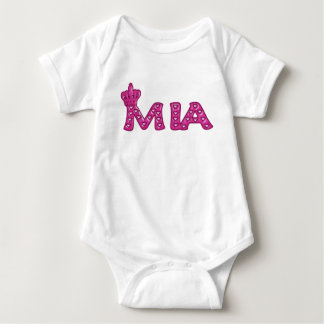 Body Para Bebé Reina Mia
