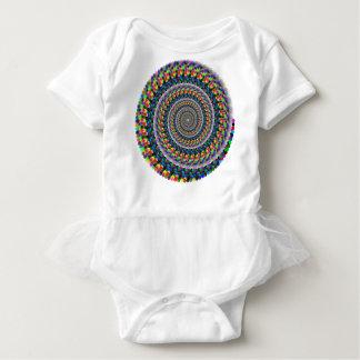 Body Para Bebé Remolino del arco iris