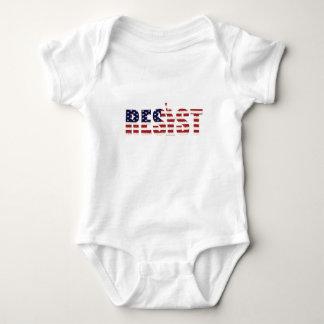 Body Para Bebé Resista la libertad de la resistencia del