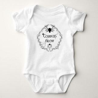 Body Para Bebé Resplandor de las telarañas