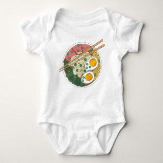 Body Para Bebé Restaurante japonés Foodie de la comida del cuenco