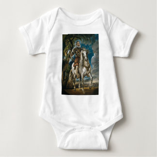 Body Para Bebé Retrato ecuestre del duque de Lerma - Rubens