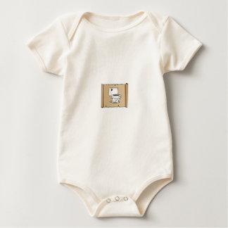 Body Para Bebé retrete en la voluta