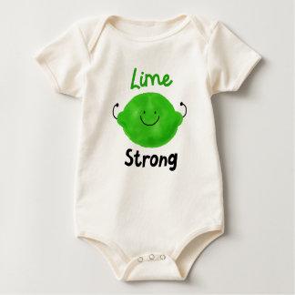 Body Para Bebé Retruécano positivo de la cal - cal fuerte