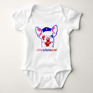 Body Para Bebé Revolución de la chihuahua