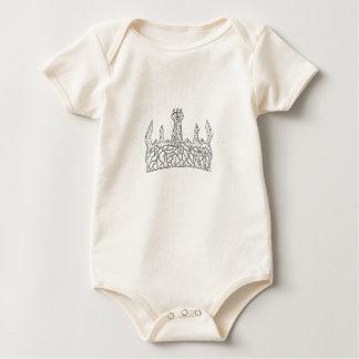 Body Para Bebé Rey de Lil