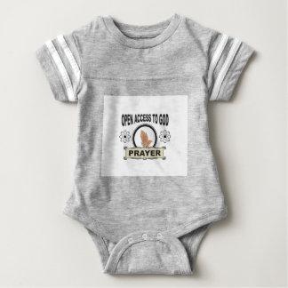 Body Para Bebé rezo del acceso abierto