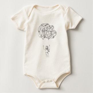 Body Para Bebé Ricordi del dei del nuvola del La
