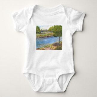 Body Para Bebé río del squamscott en newfields el 31 de julio de