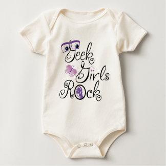 Body Para Bebé Roca de los chicas del friki