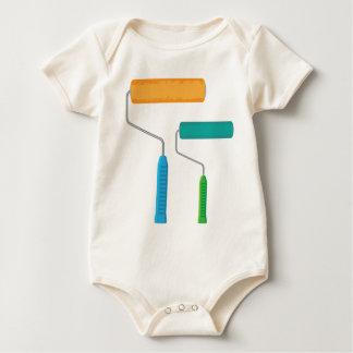 Body Para Bebé Rodillo de pintura