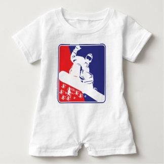 Body Para Bebé Rojo-Blanco-y-Azul-Nieve-BoA