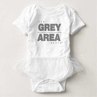 Body Para Bebé Ropa del área gris \ gris