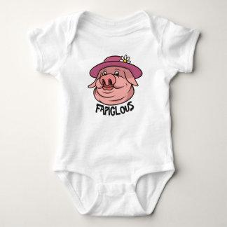 Body Para Bebé Ropa fabulosa de los niños de la palabra de argot