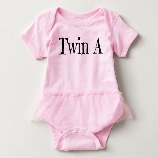 Body Para Bebé Ropa gemela del bebé - hermane un equipo
