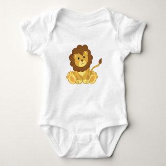 Body Para Bebé Ropa linda del bebé del león