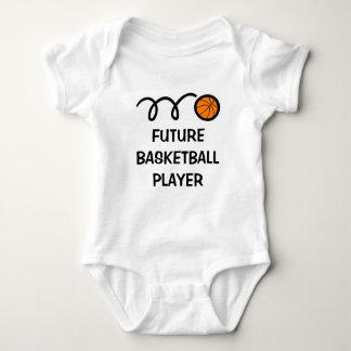 Body Para Bebé Ropa linda futura del bebé del jugador de básquet