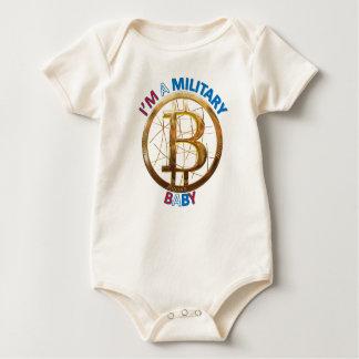Body Para Bebé Ropa militar del bebé de Bitcoin