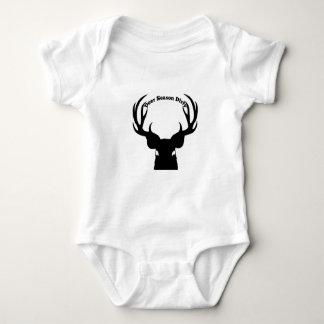 Body Para Bebé Ropa sucia del bebé de la estación de los ciervos
