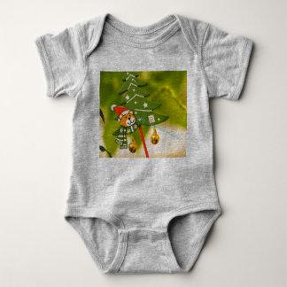 Body Para Bebé ropa temática de los chrismas lindos