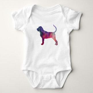Body Para Bebé Rosa colorido de la silueta del modelo de Geo del