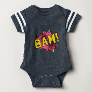 Body Para Bebé Rosa cómico del BAM del regalo del bebé del mono