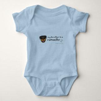 Body Para Bebé rottweiler