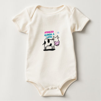 Body Para Bebé Roupinha Bebê: Alergia un Leite