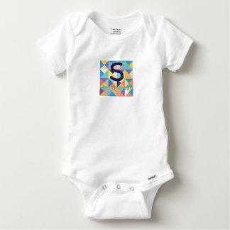 Body Para Bebé S en mi algodón Onesy del pecho