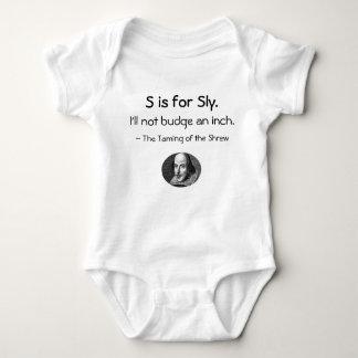 Body Para Bebé S está para astuto • Un pequeño Shakespeare poca