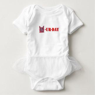 Body Para Bebé Sábado es Caturday