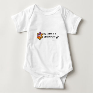 Body Para Bebé sabueso