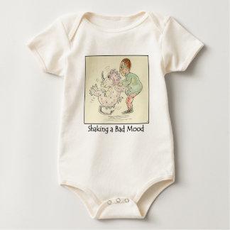Body Para Bebé Sacudida de una enredadera infantil orgánica del