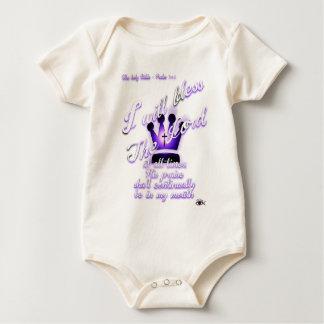 Body Para Bebé Salmo 34
