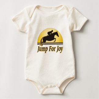Body Para Bebé Salte para el bebé orgánico de la alegría