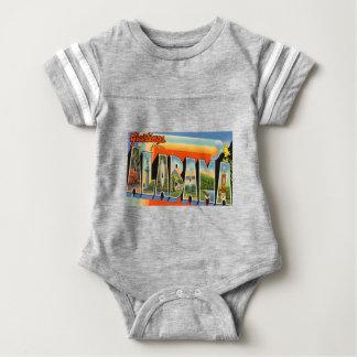Body Para Bebé Saludos de Alabama