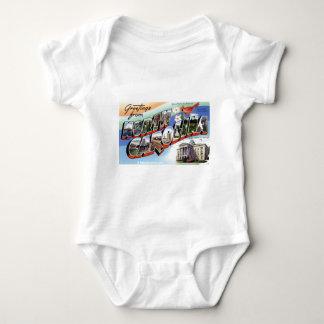 Body Para Bebé Saludos de Carolina del Norte
