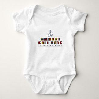 Body Para Bebé Saludos de Detroit