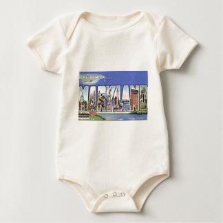 Body Para Bebé Saludos de Maryland