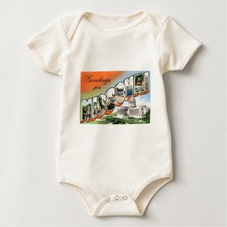 Body Para Bebé Saludos de Missouri