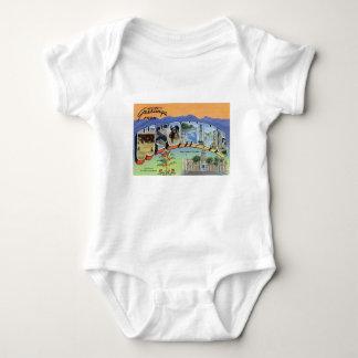 Body Para Bebé Saludos de Wyoming