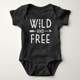 Body Para Bebé Salvaje y libre
