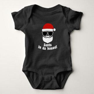 Body Para Bebé Santa en casa de DA