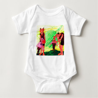 Body Para Bebé Saturn Giants