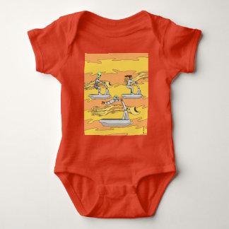 Body Para Bebé Scootering con los jinetes del viento
