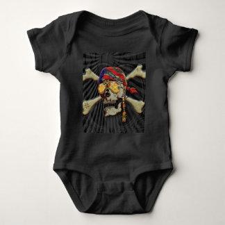 Body Para Bebé Scull del pirata